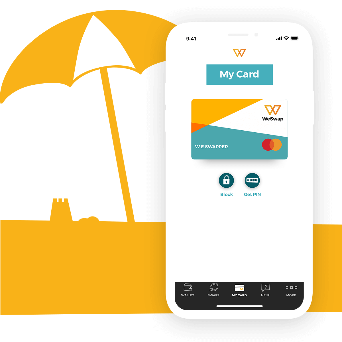 Travel Money Card | Prepaid Currency Card | WeSwap